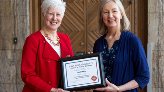 Janet Melby award